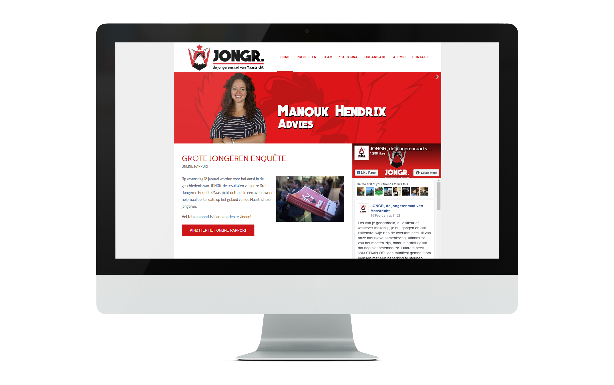 JONGR website